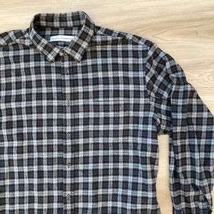 National Standards Plaid Button Up